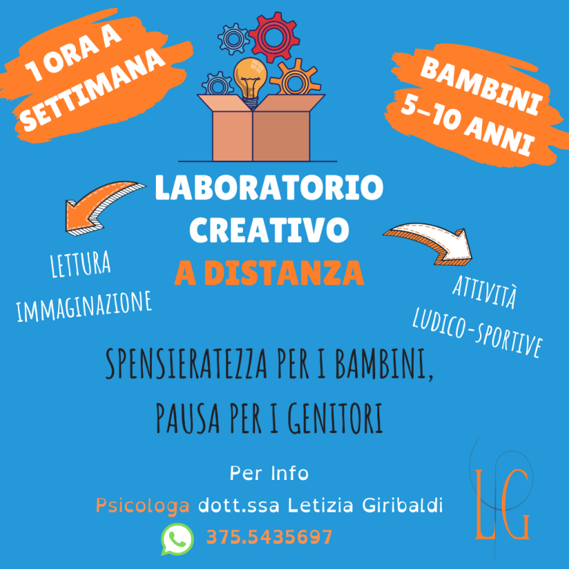 Laboratorio Creativo a Distanza