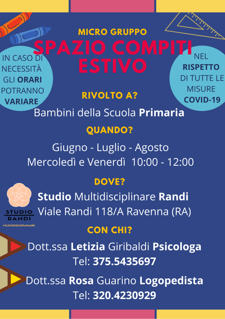 Attività estive Ravenna